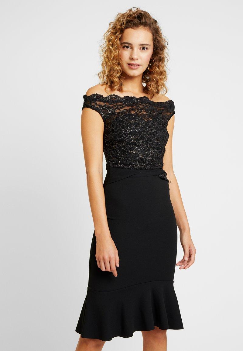 Sista Glam - BEATTIE - Koktejlové šaty/ šaty na párty - black