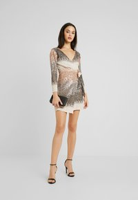 Sista Glam - CECILY - Cocktail dress / Party dress - silver - 2