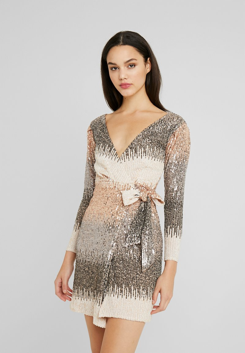 Sista Glam - CECILY - Vestito elegante - silver