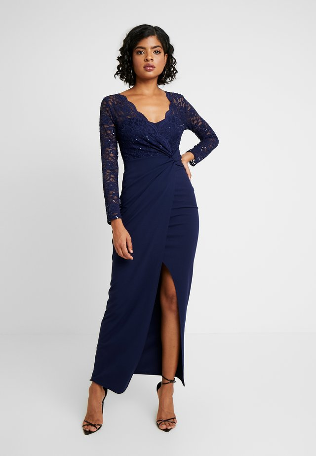 POLI - Ballkleid - navy