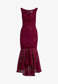Sista Glam - TYREEN - Suknia balowa - berry - 5