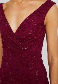 Sista Glam - TYREEN - Suknia balowa - berry - 6