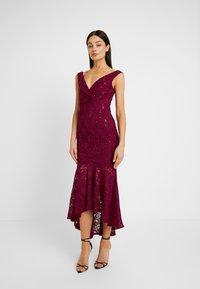 Sista Glam - TYREEN - Suknia balowa - berry - 0