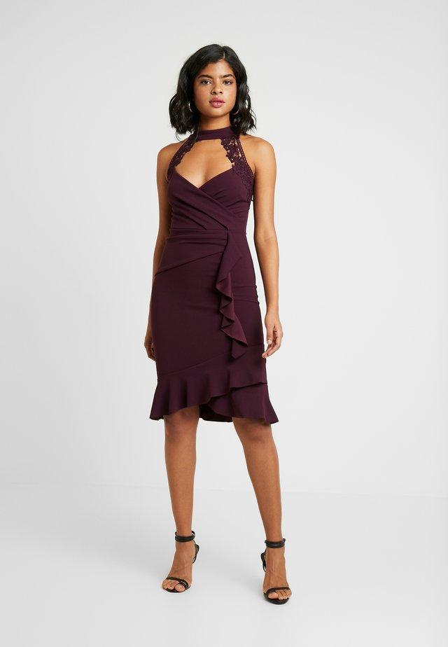 LEESHA - Cocktail dress / Party dress - raspberry