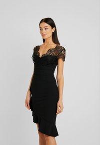 Sista Glam - LYNDIA - Sukienka koktajlowa - black - 0
