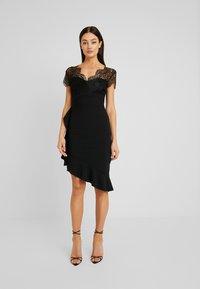 Sista Glam - LYNDIA - Koktejlové šaty/ šaty na párty - black - 2
