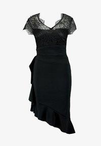 Sista Glam - LYNDIA - Sukienka koktajlowa - black - 5