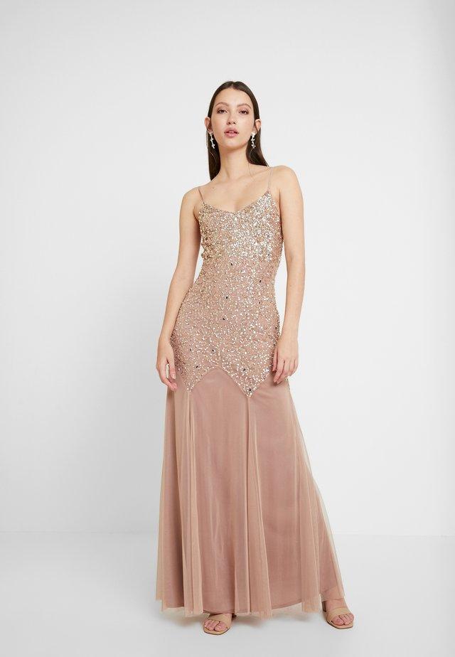 LOREN - Suknia balowa - nude