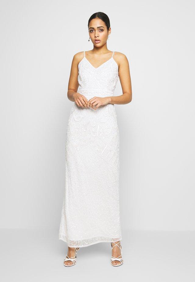 FLORY - Festklänning - white