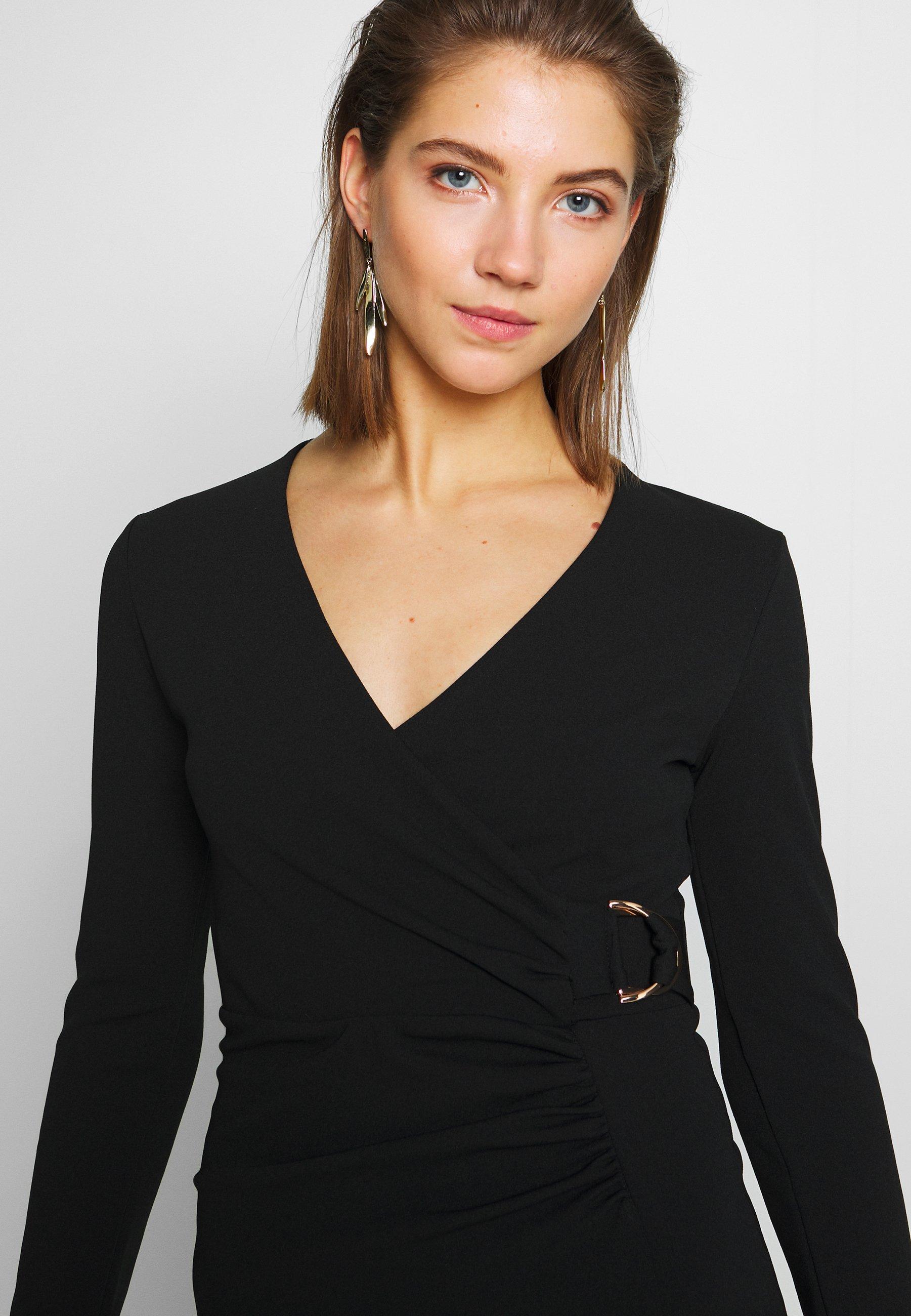 Sista Glam BRITNEY - Sukienka etui - black