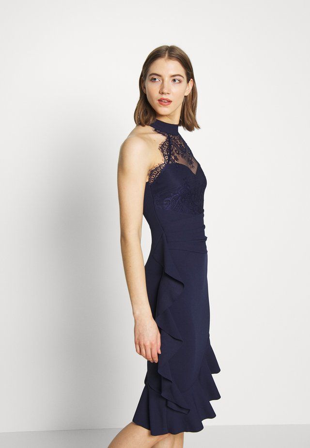 RENYINA - Cocktailjurk - navy