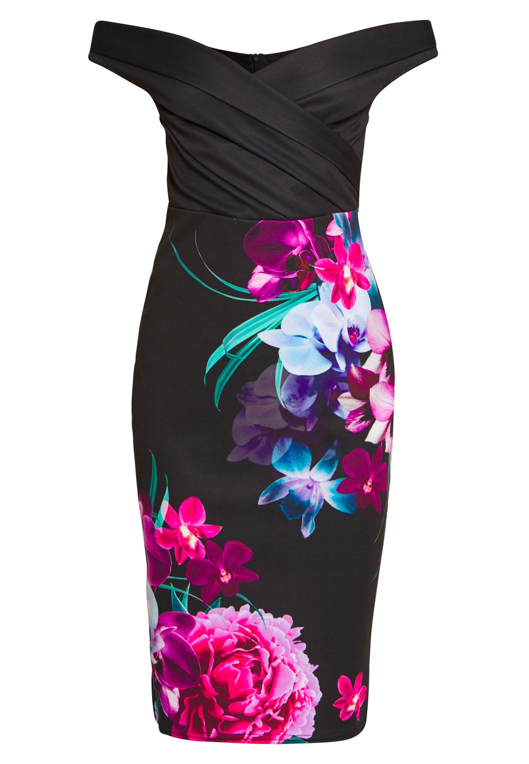 Sista Glam DEANNE - Sukienka koktajlowa - black