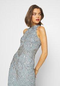 Sista Glam - GLOSSIE - Sukienka koktajlowa - blue grey - 3