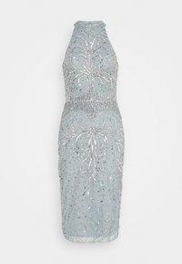 Sista Glam - GLOSSIE - Sukienka koktajlowa - blue grey - 4