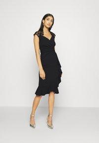 Sista Glam - LEESHA DRESS - Sukienka koktajlowa - black - 1