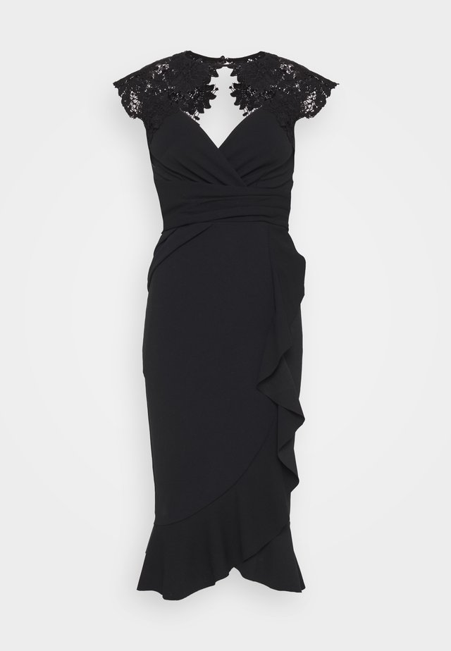 LEESHA DRESS - Cocktail dress / Party dress - black
