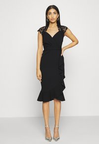Sista Glam - LEESHA DRESS - Sukienka koktajlowa - black - 0
