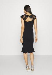 Sista Glam - LEESHA DRESS - Sukienka koktajlowa - black - 2