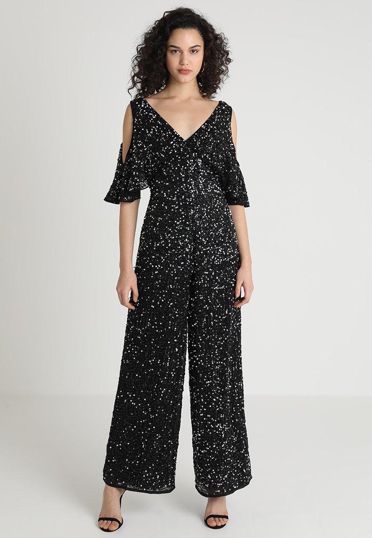 Sista Glam - GLITZY - Jumpsuit - black