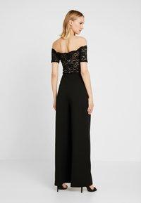 Sista Glam - LUCIYA - Jumpsuit - black/nude - 2