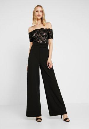 LUCIYA - Tuta jumpsuit - black/nude