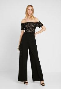 Sista Glam - LUCIYA - Jumpsuit - black/nude - 1