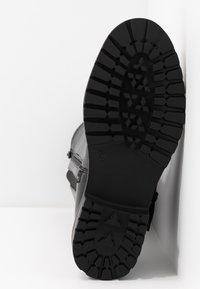 Simply Be - WIDE FIT GWEN KNEE HIGH - Cowboy/Biker boots - black - 6