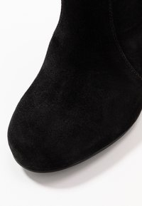 Simply Be - WIDE FIT LANI BLOCK KNEE HIGH BOOTS - High heeled boots - black - 2