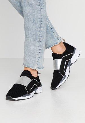 WIDE FIT GRACE SPORTY SOLE TRAINER - Loafers - black