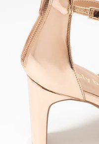 Simply Be - WIDE FIT STEPH SLIM HEEL STRAPPY - Sandals - rose gold - 2
