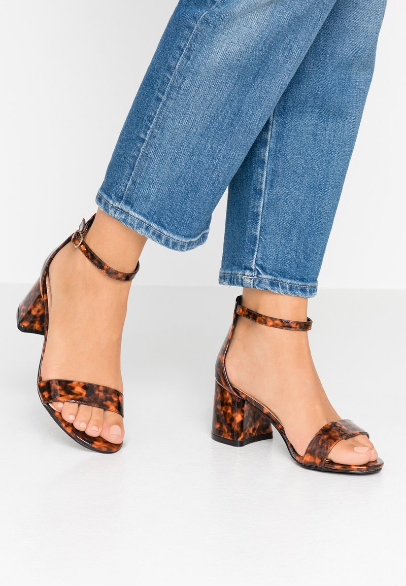 Simply Be - WIDE FIT CAMMY - Sandals - brown