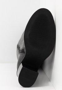 Simply Be - WIDE FIT MICHELLE KNEE HIGH BLOCK HEEL BOOT - Laarzen - black - 6