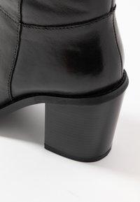 Simply Be - WIDE FIT MICHELLE KNEE HIGH BLOCK HEEL BOOT - Laarzen - black - 2