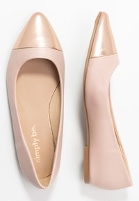 Simply Be - WIDE FIT HERA - Ballet pumps - nude/rose gold - 3