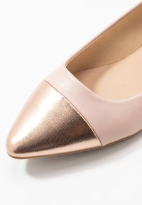 Simply Be - WIDE FIT HERA - Ballet pumps - nude/rose gold - 2
