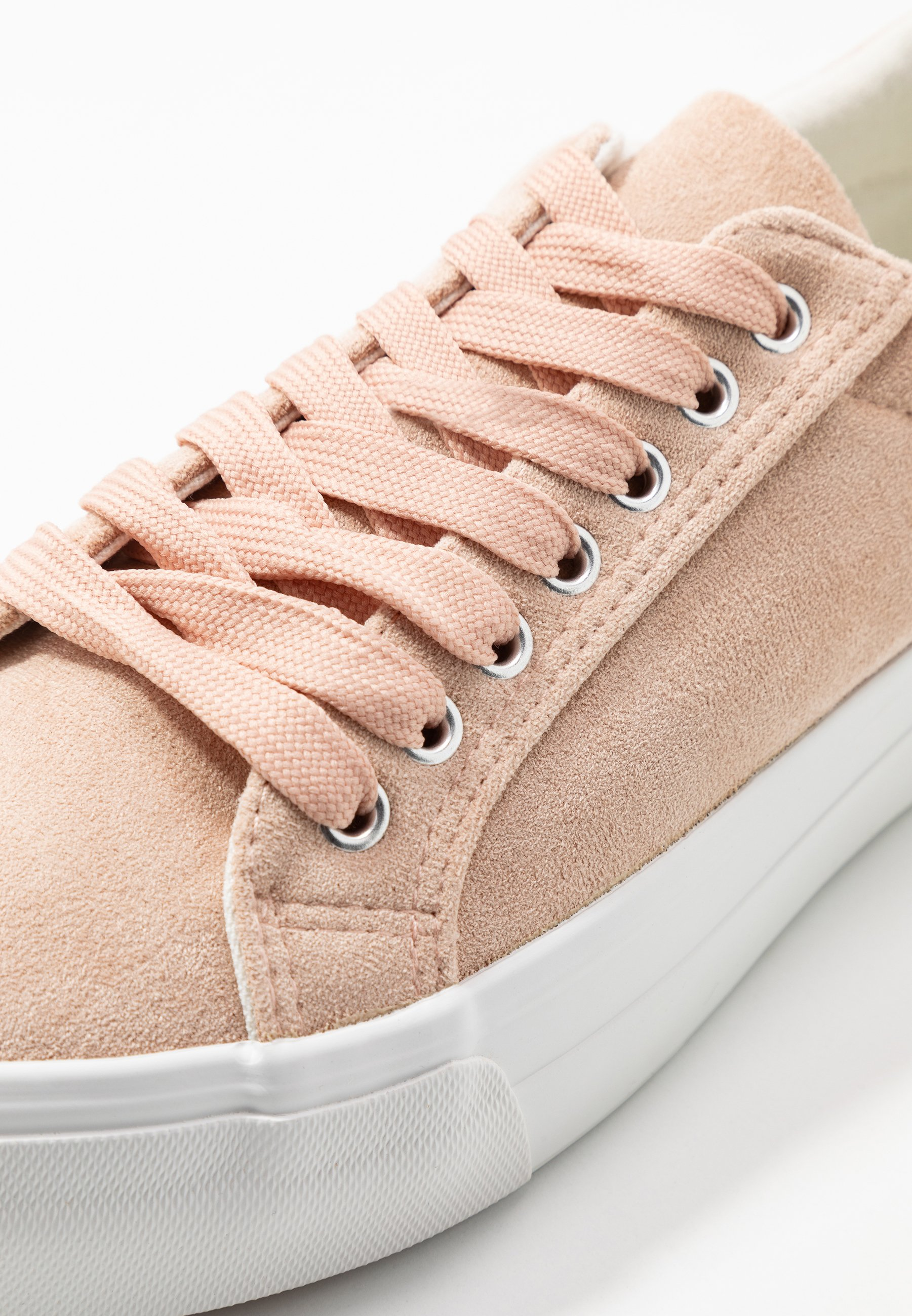 Simply Be WIDE FIT GISELLE - Sneakersy niskie - nude