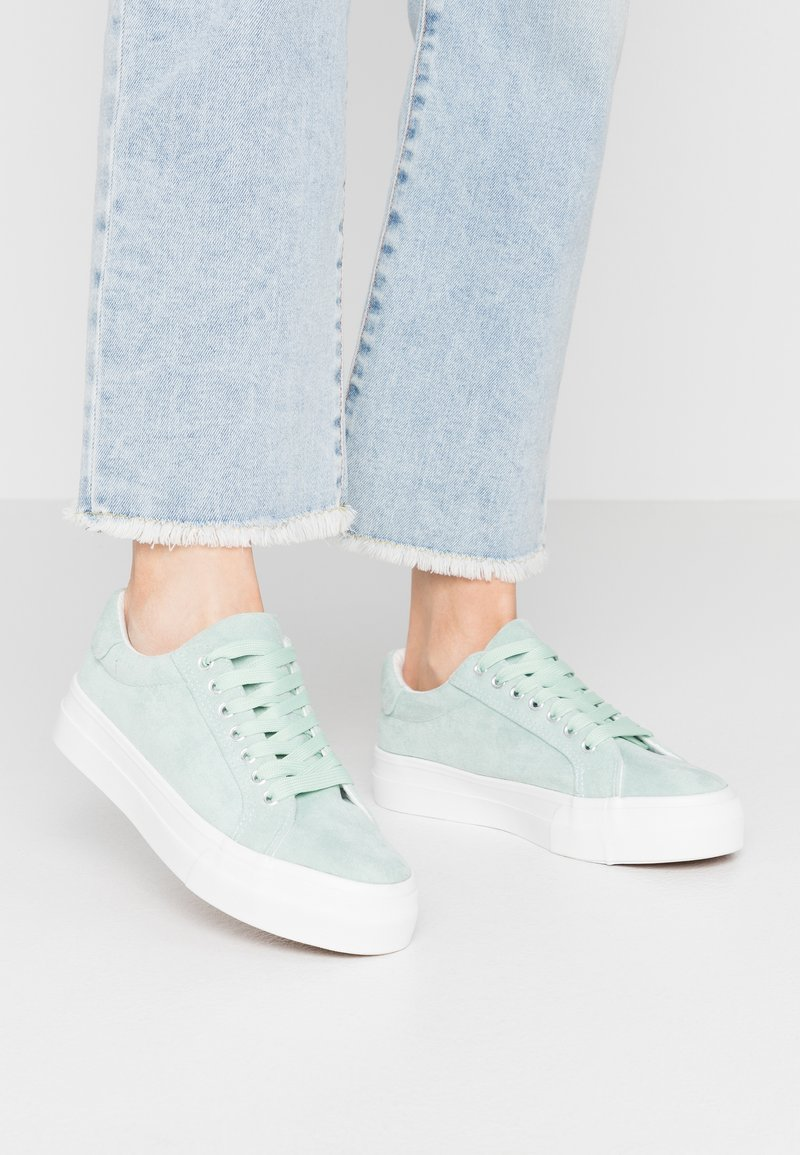 Simply Be - WIDE FIT GISELLE - Trainers - green