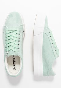 Simply Be - WIDE FIT GISELLE - Trainers - green - 3