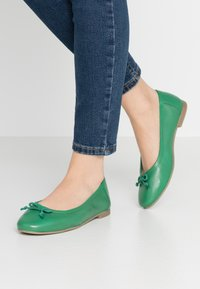 Simply Be - WIDE FIT  - Ballet pumps - emerald - 0