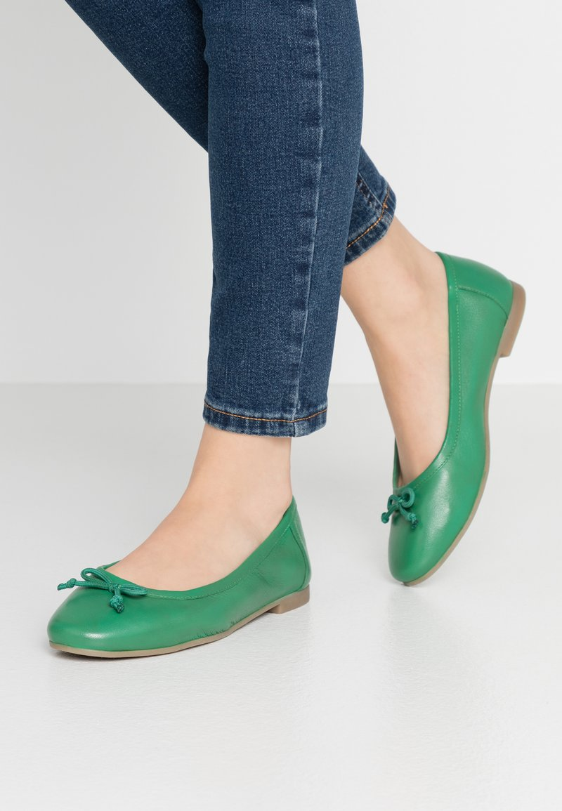 Simply Be - WIDE FIT  - Ballet pumps - emerald