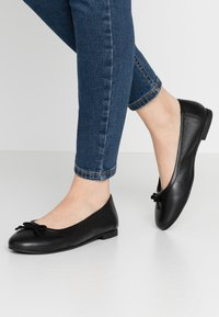 Simply Be - WIDE FIT  - Ballet pumps - black - 0