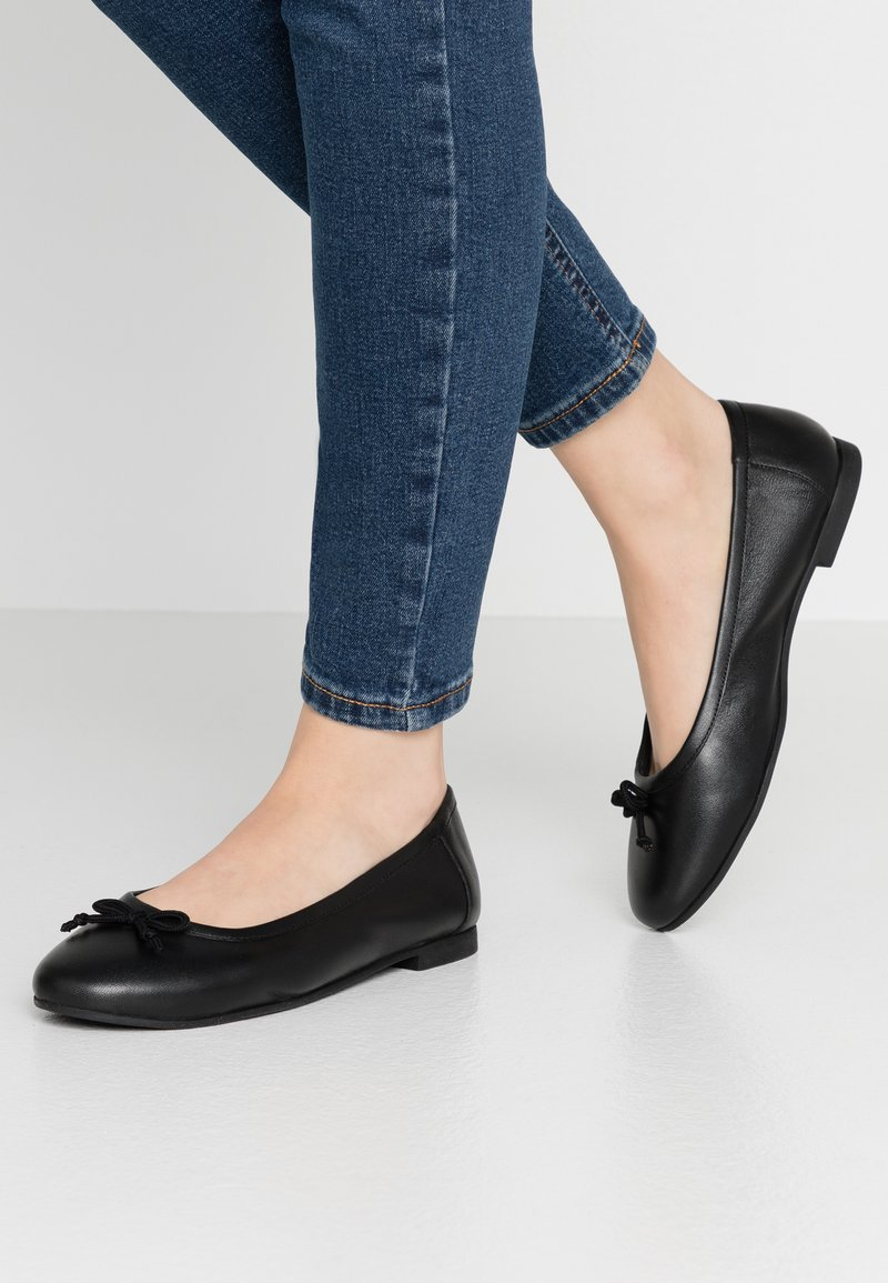 Simply Be - WIDE FIT  - Ballet pumps - black
