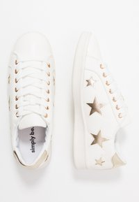 Simply Be - WIDE FIT STARRY - Trainers - white - 3