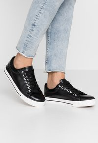 Simply Be - WIDE FIT PENNY - Trainers - black - 0