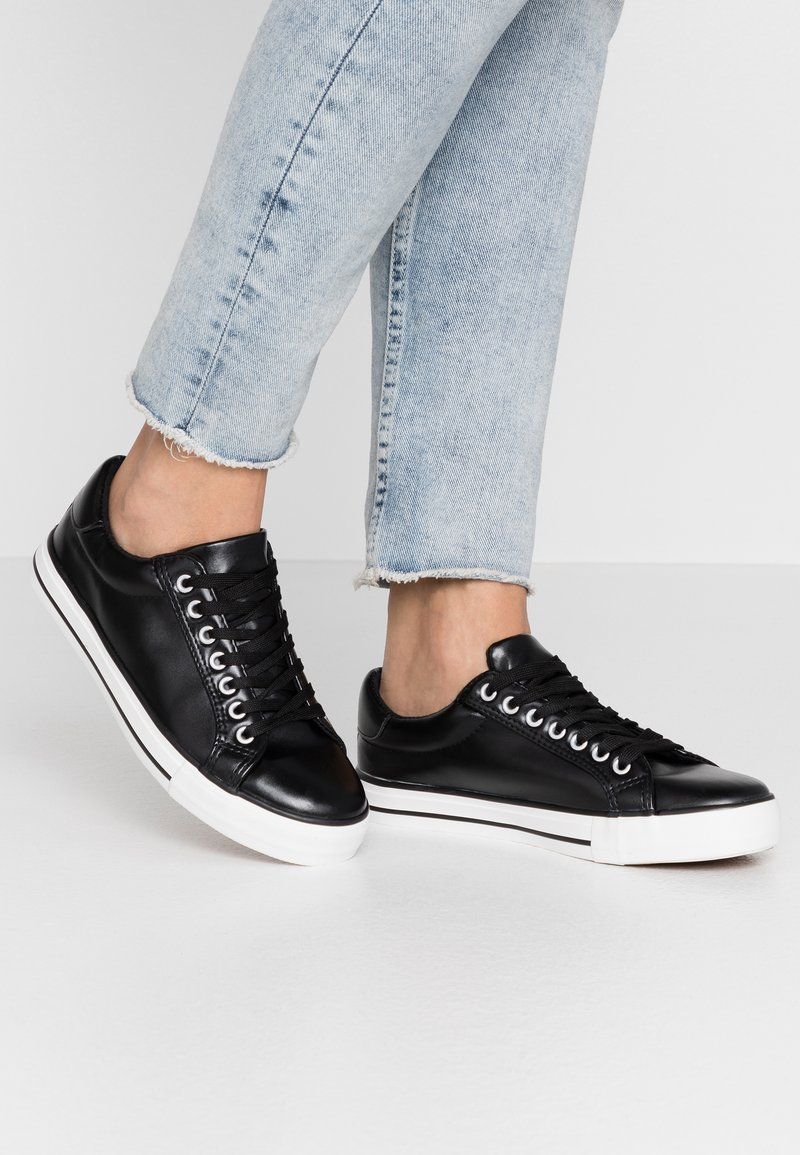 Simply Be - WIDE FIT PENNY - Trainers - black