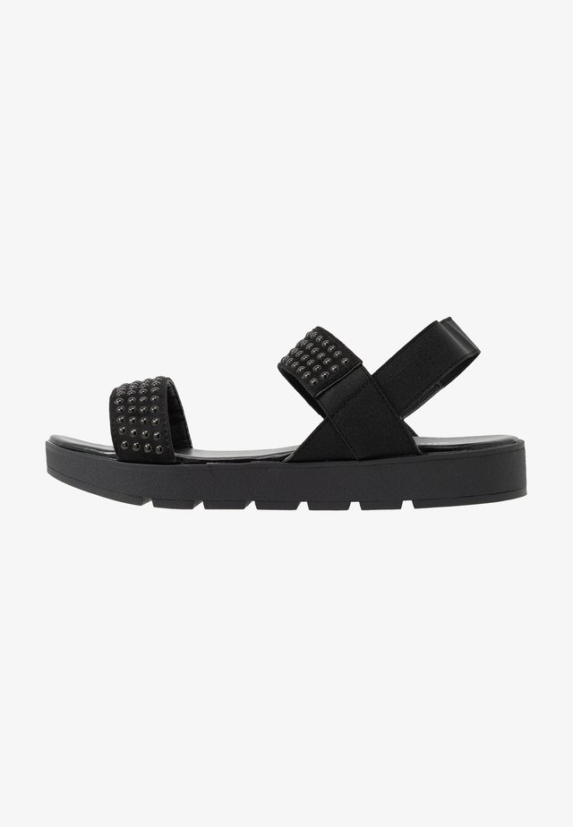 WIDE FIT IRVING - Sandaler - black