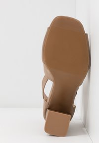 Simply Be - WIDE FIT PHOENIX - High heeled sandals - sand - 6