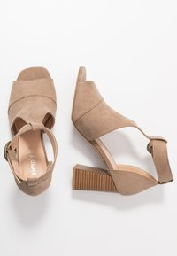 Simply Be - WIDE FIT PHOENIX - High heeled sandals - sand - 3