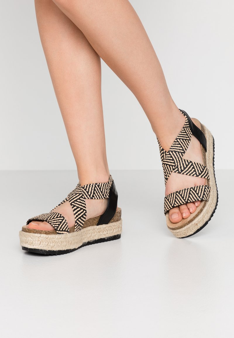 Simply Be - WIDE FIT DELAWARE - Espadrilles - multicolor