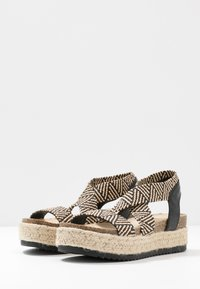 Simply Be - WIDE FIT DELAWARE - Espadrilles - multicolor - 4